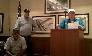 Steve Henderson introducing Bill Broker