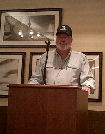 Bill Brooker of Brooker Bait and Tackle, Leesburg