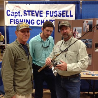 Shane, Client, and Steve Fussell and client