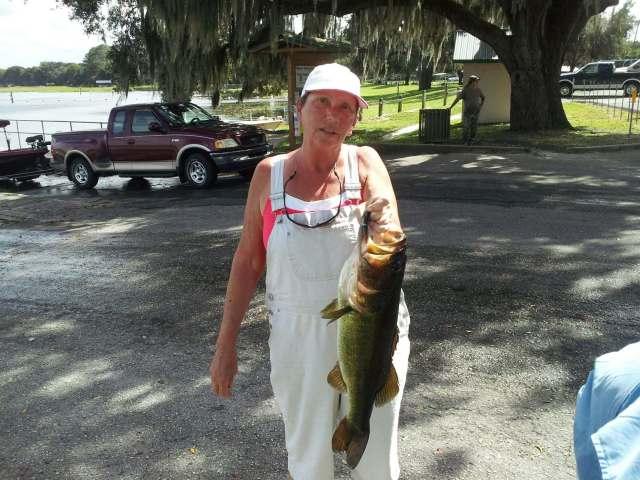 Carol Nass  Tournament  Big Bass 5 lbs