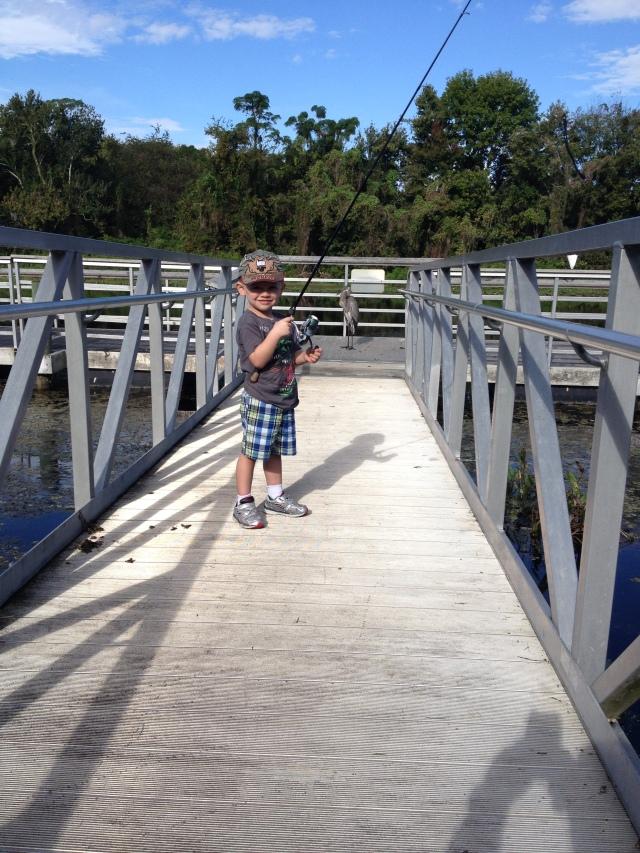 Master Waylon Padget  Angler Extraordinare