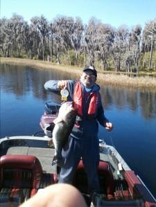 Marty Martinez Caught 2/11/15  Lake Butler