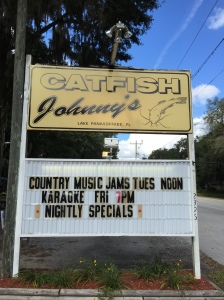 Catfish Johnny's for lunch