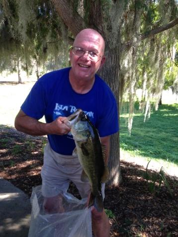 Ron Georgia 4.14 Big Bass Caught Crankin' Lipless - Nice Fish Ron