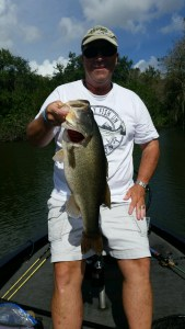 Jeff Barksdale Caught Nov 8, 2015 Weight 4.8 lbs