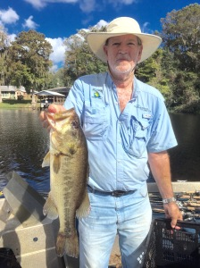 Foy Underwood Holding A Toad Eater Caught 11/10/15 Weight 4.39 lbs