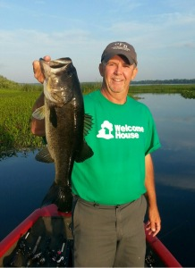 Rick Cope 5 1/2 lb St Johns ate a topwater
