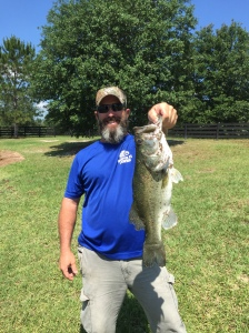 3 lb Bass Caught 5/22/16 Village Pond