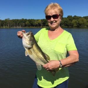 Charlene Blackburn Crankbait Bass Back in Oklahoma This Summer
