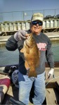 Ken Fox with a 5.14 L:ake Erie Smallmouth Caught 10/12/16