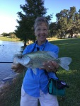 Nice Crappie Marilee Elias of Tri County Fly Fishers
