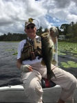 Jerry Lester 3.1 lbs 10/4/16 Deaton Hollowbody Toad