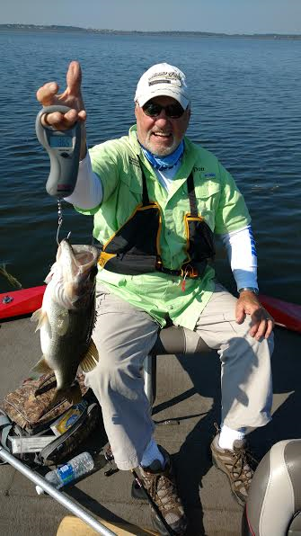 Don Kindilien Lake Griffin 11/17/16 Watermelon Worm Wt 3.77 lbs Wiggled When Photographed :)