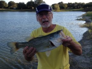 FFC Pres Randy Disanto 3.3 lb Caught 11/6/16 Summerhill Pond The Villages