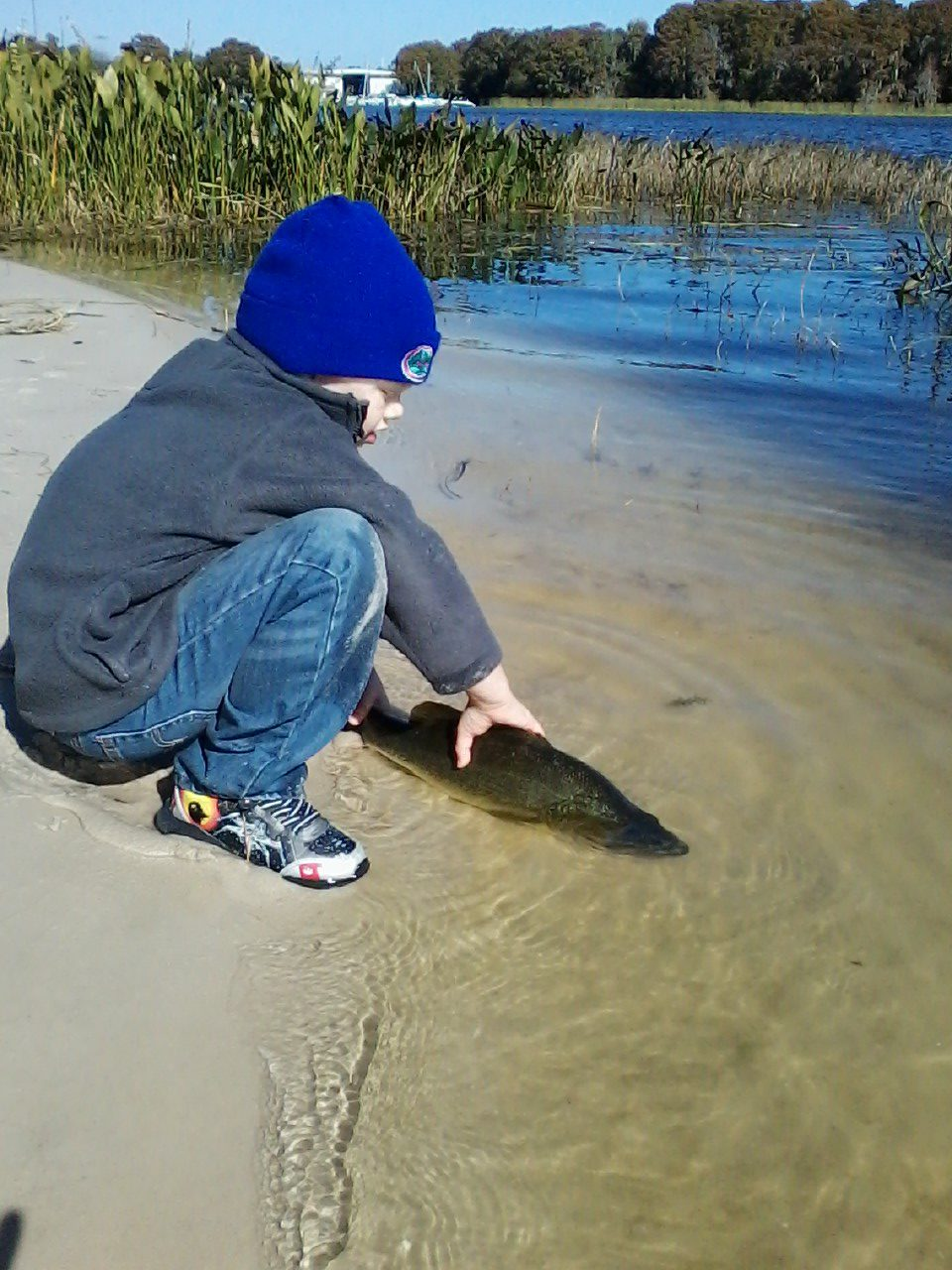It s time to eat the villages freshwater fishing for Freshwater fishing in massachusetts