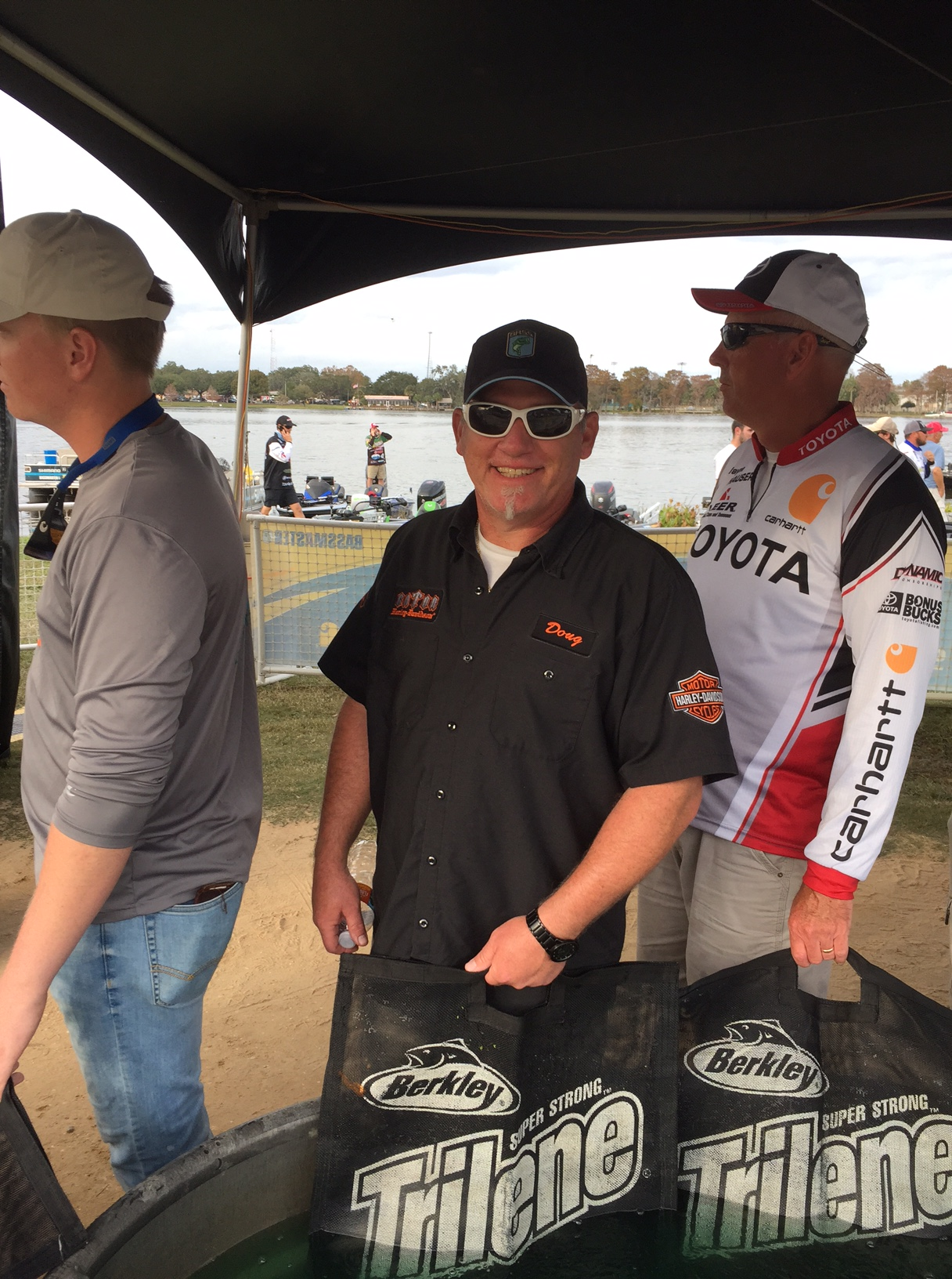 First bassmaster weigh in of 2017 the villages for Local bass fishing clubs