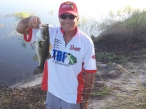 Chip Austin with 1st Fish at Poinciana, 2 lbs
